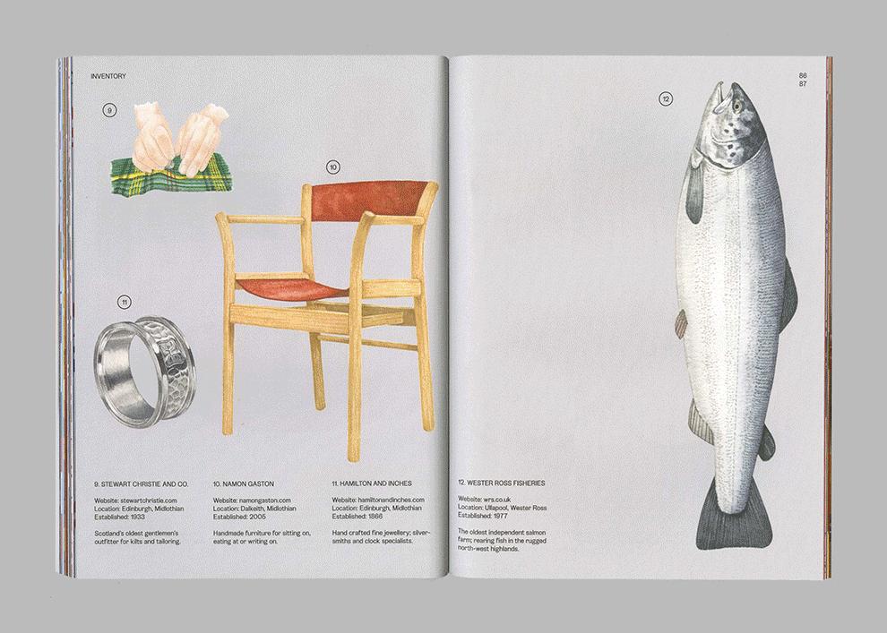 Vanguards Oxbow Chair Illustration