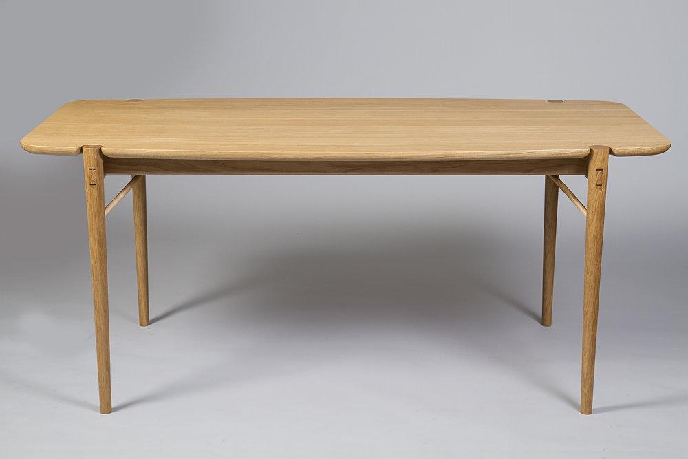 European oak dining table