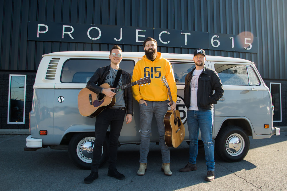 "Project 615 Presents: The 615 Bus Sessions, celebrating the spirit of Music City from our 1978 VW Bus, affectionately named ""Dolly""."