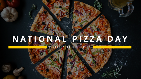 NATIONAL PIZZA DAY : FEBRUARY 9TH, 2018.