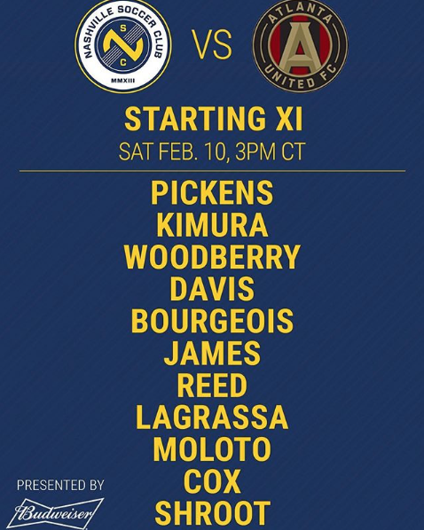 NSC shouts out their first ever line up: @nashvillesc