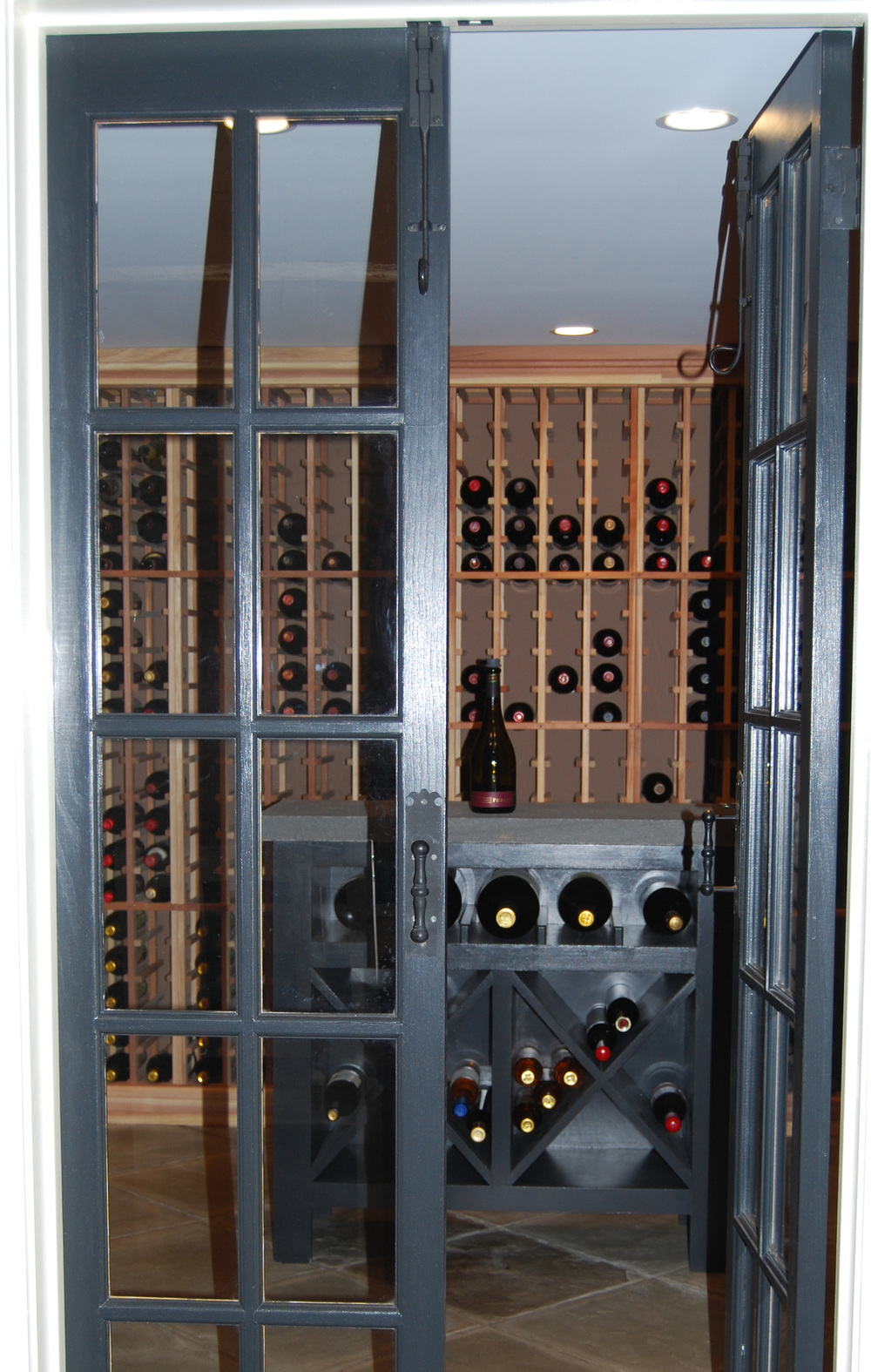 HUDSON VALLEY FARMHOUSE - Cold Spring, NY - Wine Cellar