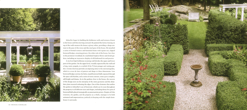 Landscape design by Michael Schoeller.