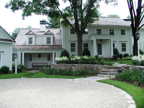Classic new england garden schoeller darling design for Classic new england house plans