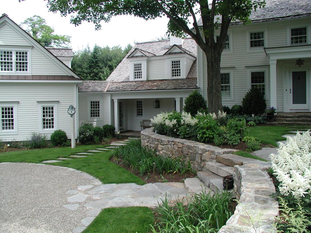 Classic New England Garden Schoeller Darling Design