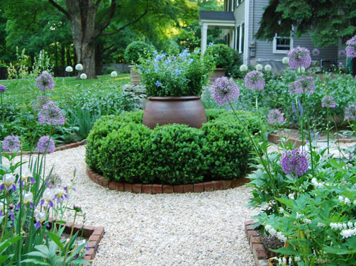 DESIGNER'S GARDEN - Allium and Peony garden