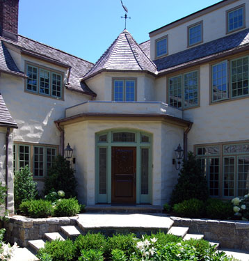 ENGLISH STYLE GARDEN - Greenwich CT