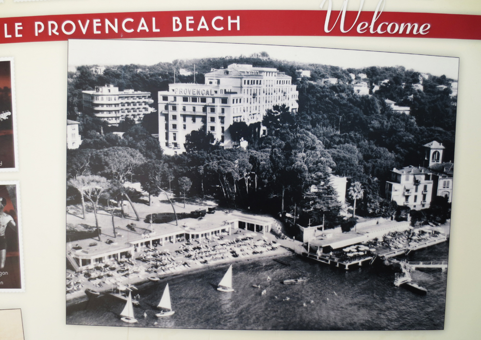 Vintage picture of le provencal beach_web.jpg