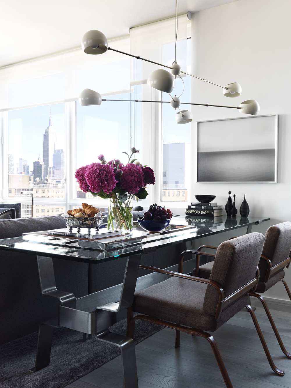 New York City Retreat - DINING AREA - Chelsea, NYC - Schoeller + Darling Interior Design