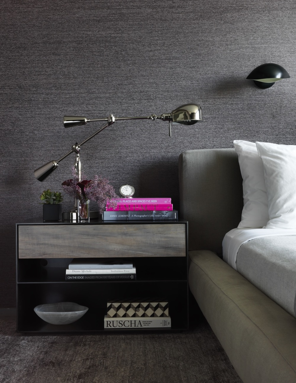 New York City Retreat - BEDROOM, Details - Chelsea, NYC - Schoeller + Darling Interior Design