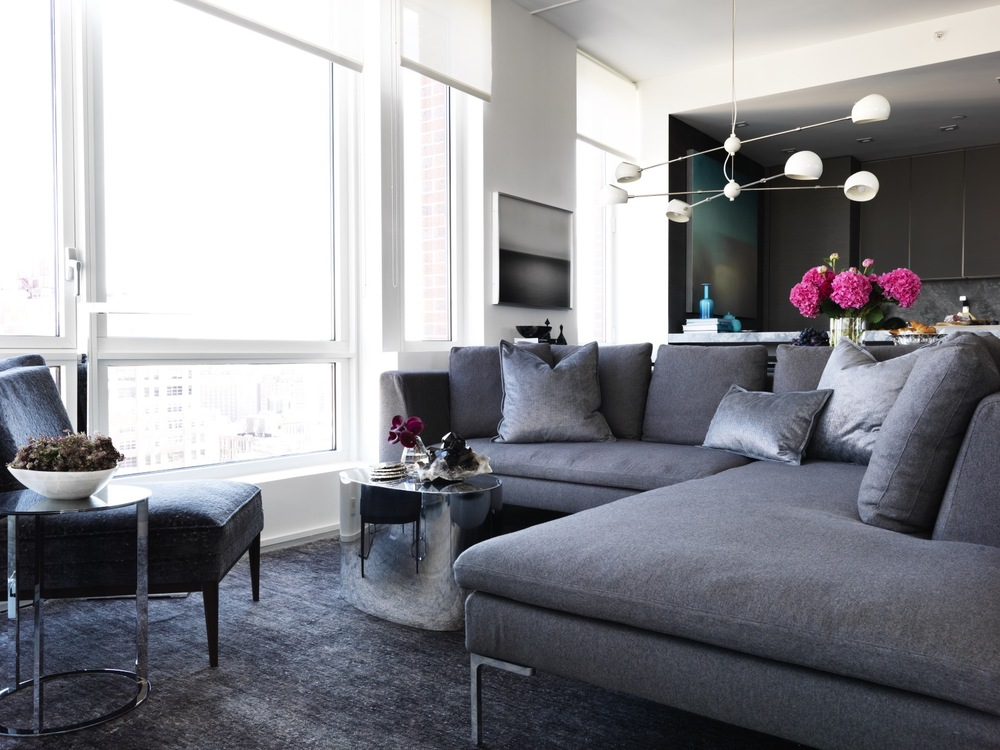 New York City Retreat - LIVINGROOM - Chelsea, NYC - Schoeller + Darling Interior Design