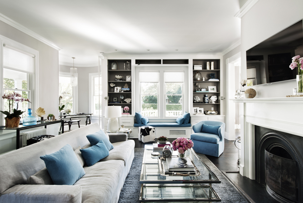 Copy of Victorian Rumson Beach Home - LIVINGROOM