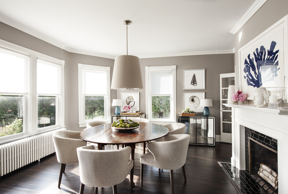 Victorian Rumson Beach Home - DINING ROOM