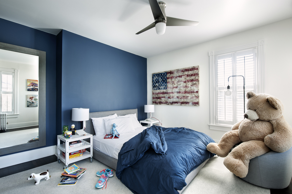 Victorian Rumson Beach Home - SON'S ROOM