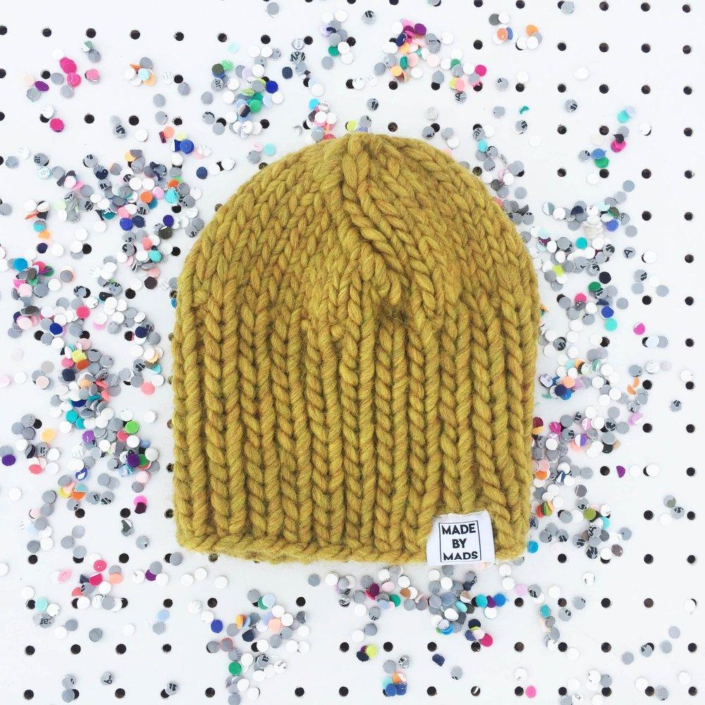 Hat: Mustard