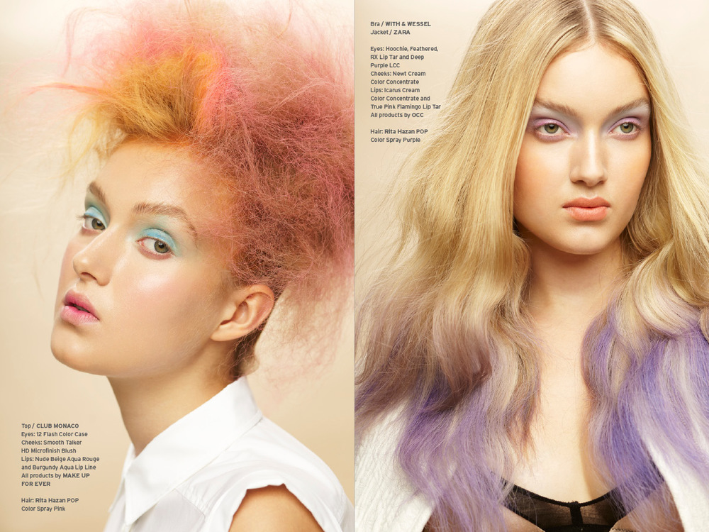 POPCYCLE MAGAZINE NO.2 / BEAUTY RETOUCHING / COLOR ME CANDY / PHOTO KEN PAO