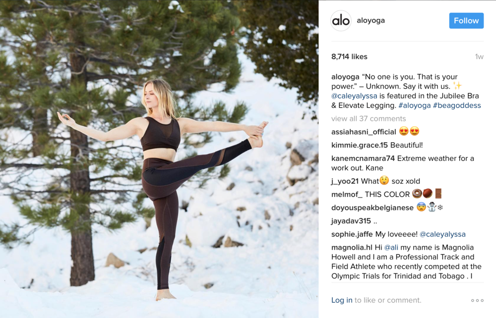ALO YOGA / INSTAGRAM SHOOT RETOUCHING