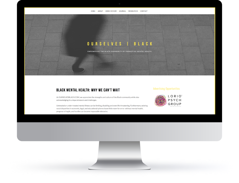 web | identity | branding for ourselves | black