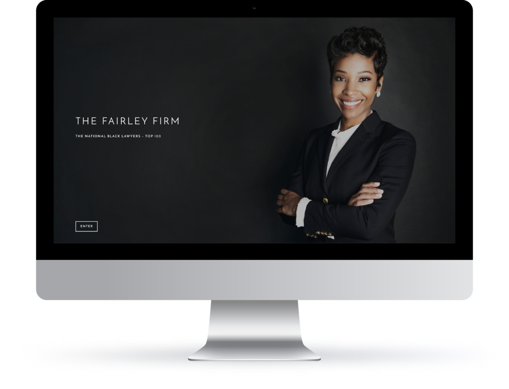 web | identity | branding | photography for the fairley firm atlanta