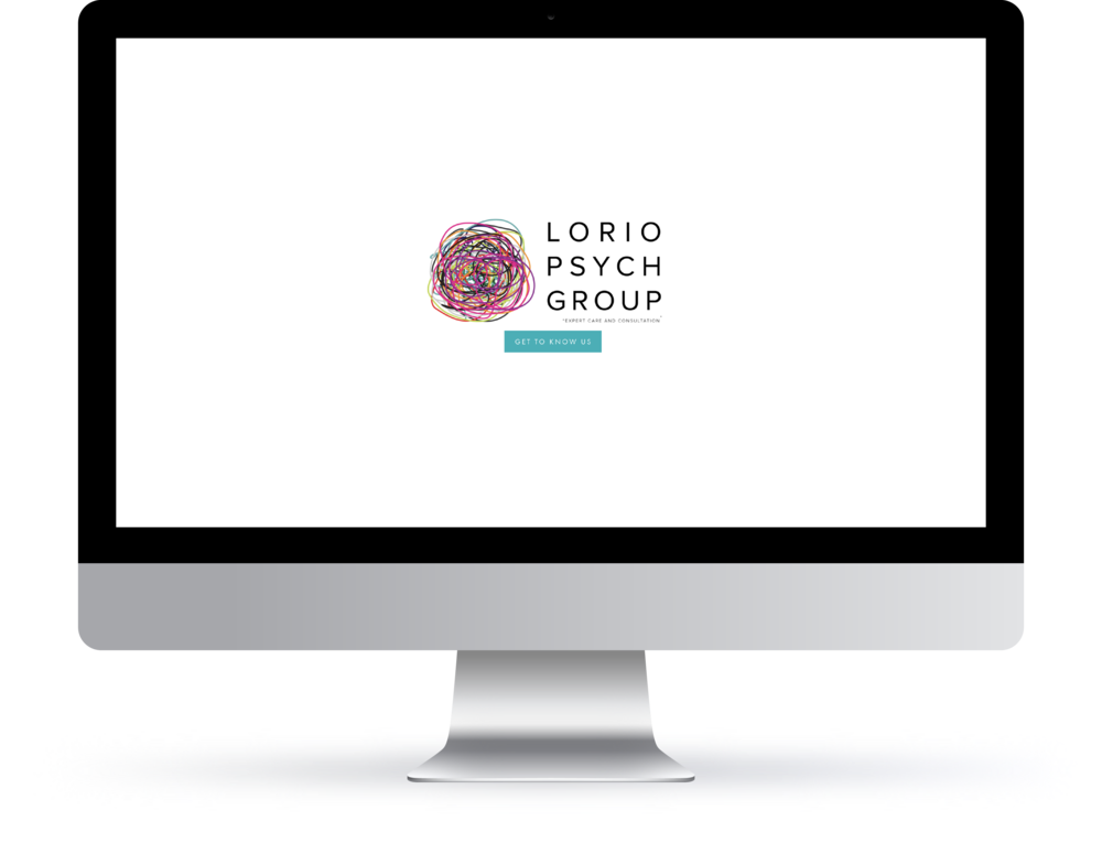 web | identity | photography | branding for lorio psych group
