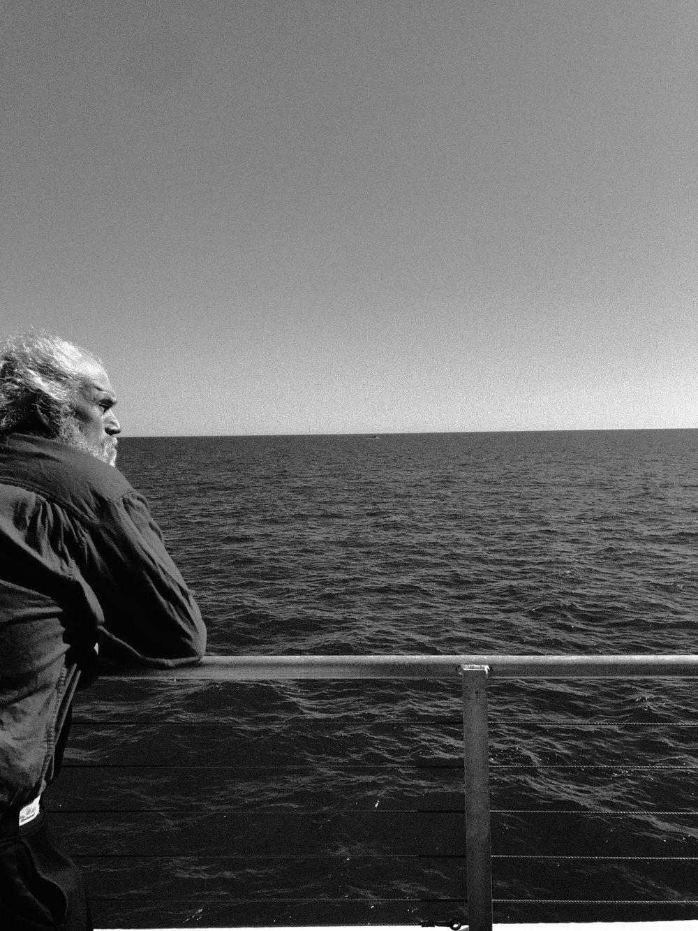 Atlanta based branding and design agency photographs Ferry Captain