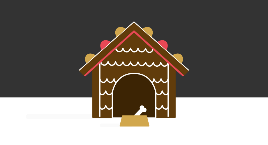 Gingerbread Doghouse, Winter 2015