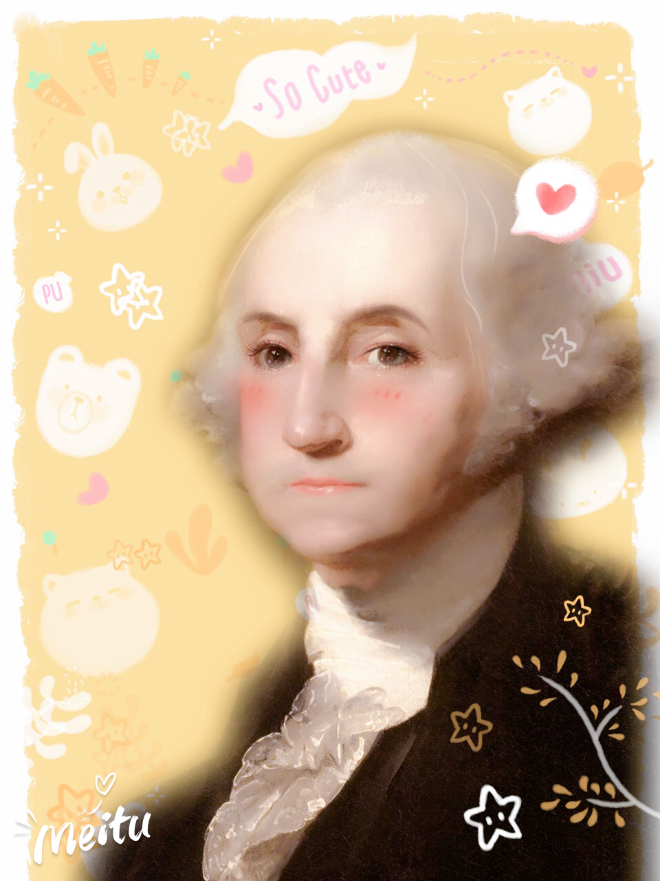 George Washington, 1st President