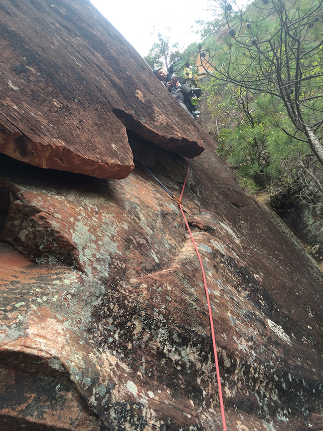 Dan Jerke follows the insecure wide flake on P7.
