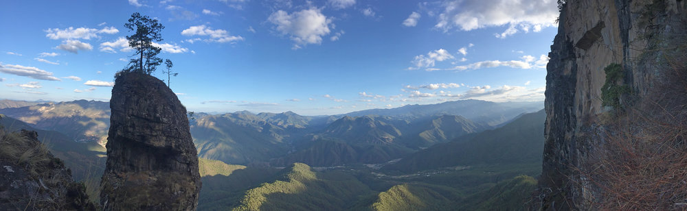 Pano from the top of pitch 11