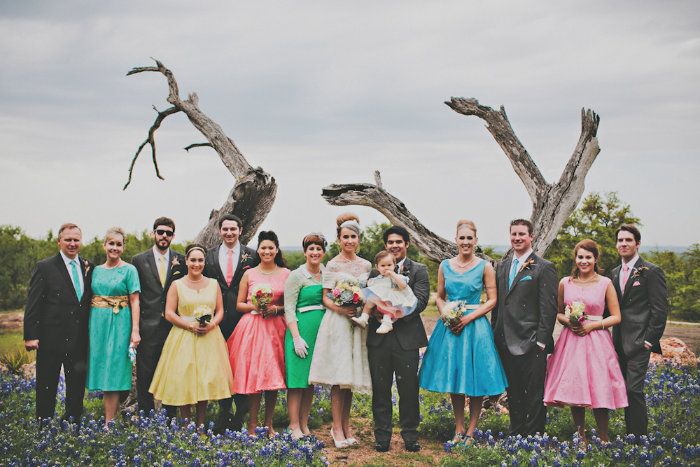 Custom Vintage Ecofriendly Wedding
