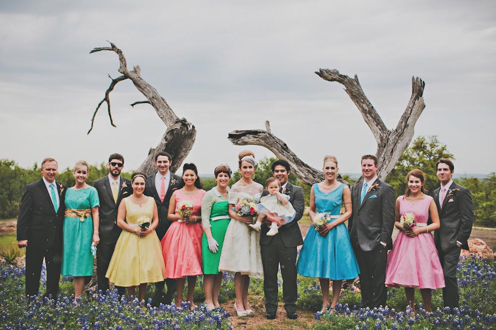Custom Vintage Ecofriendly Wedding