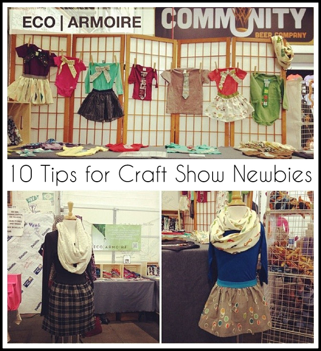 10 Tips for Craft Show Newbies