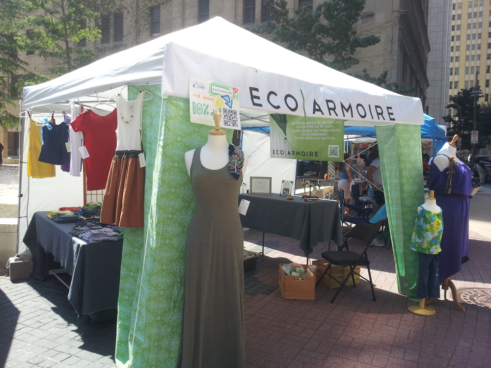 EcoArmoire Booth