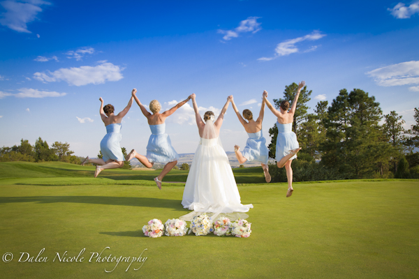 August Sanctuary Golf Course Wedding