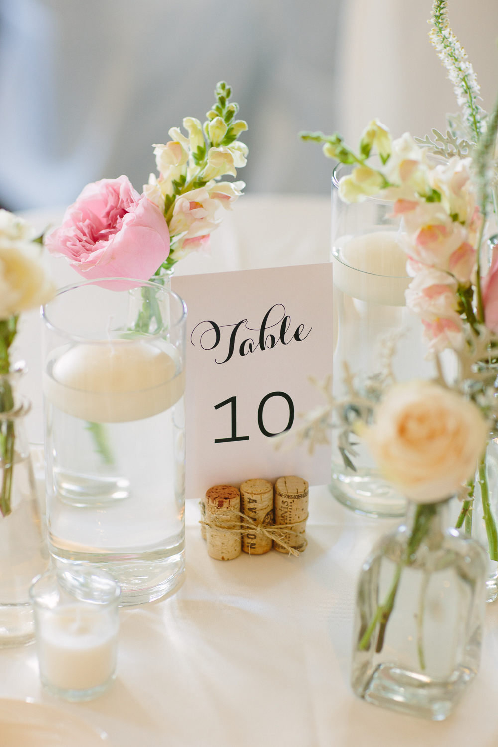 Simple Centerpieces 3 Leaf Floral