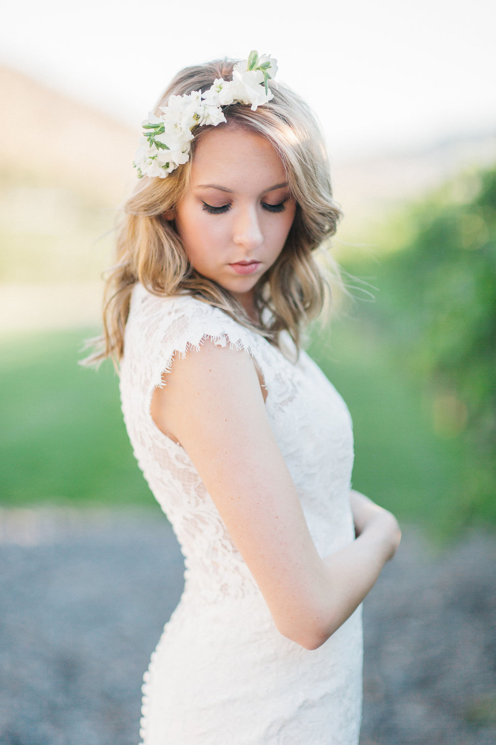 Flower Crown | Rocky Mountain Bride | 3 Leaf Floral