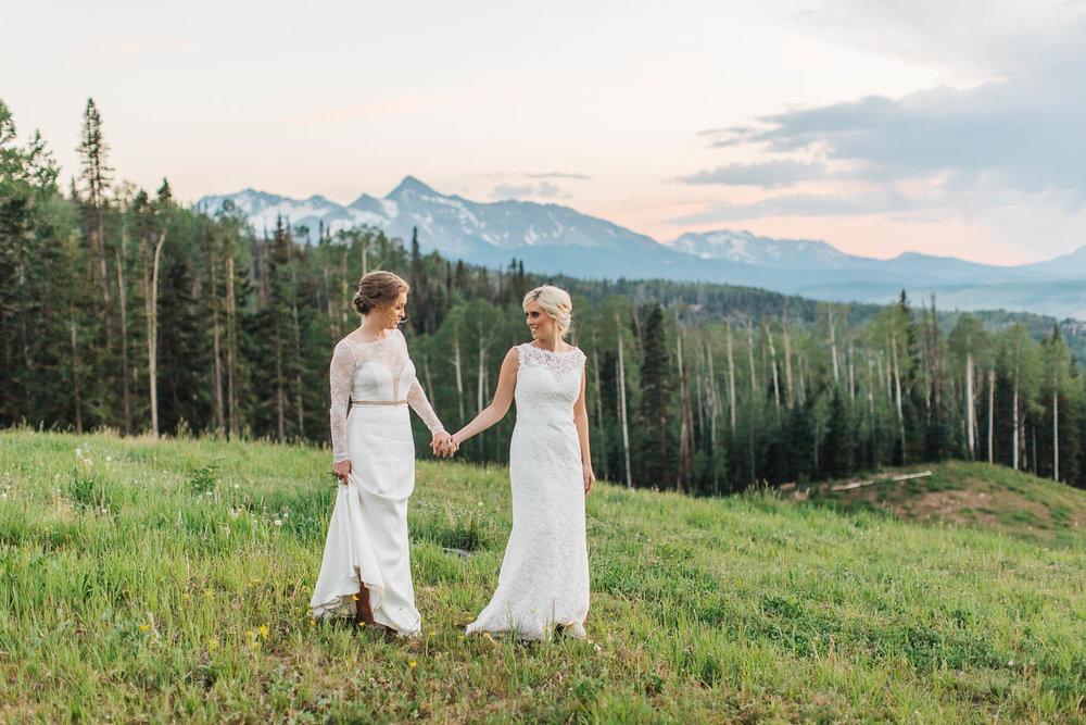 Outdoor Colorado Wedding Telluride