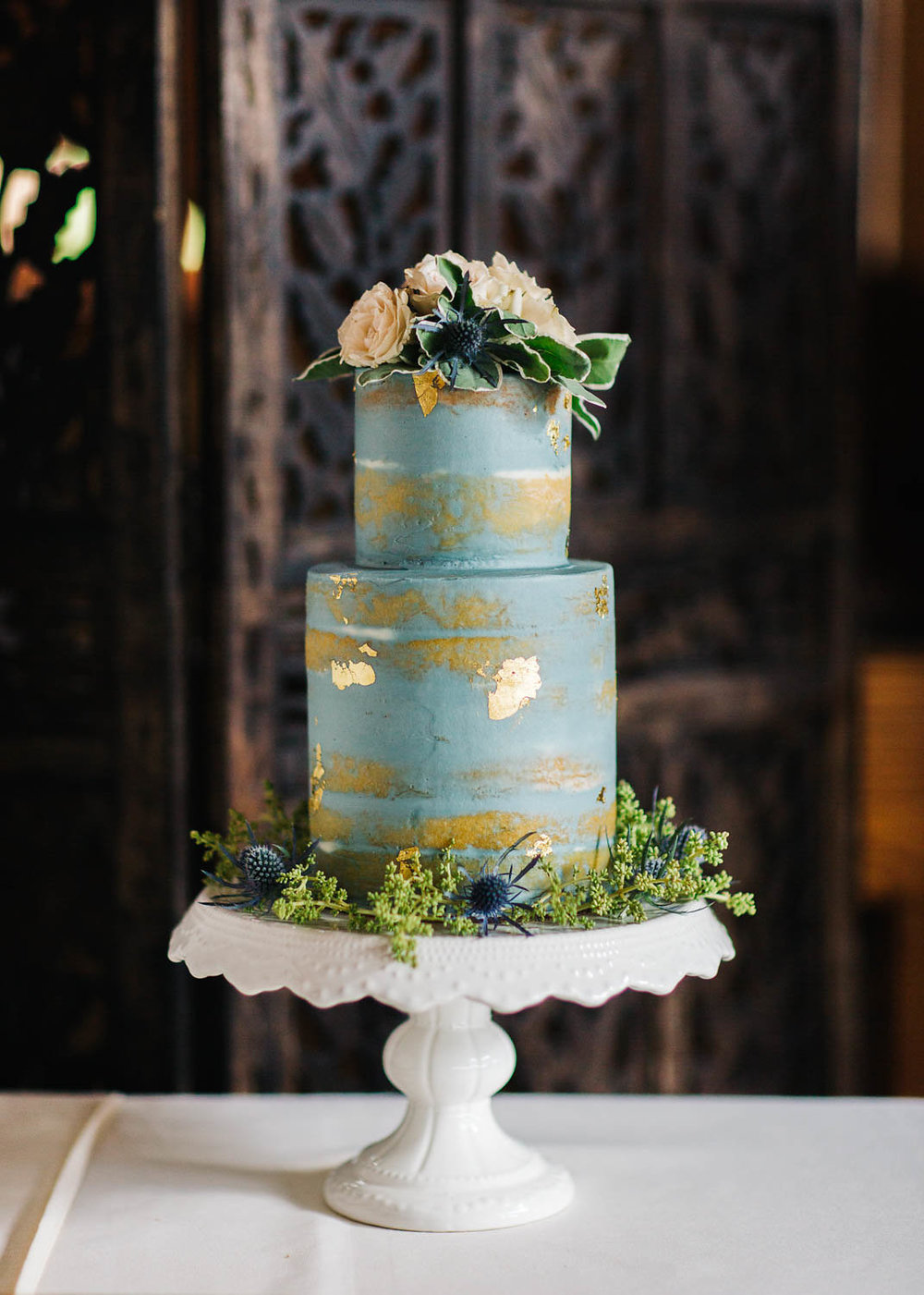 3 leaf floral telluride wedding