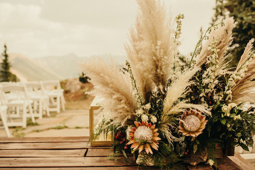 Summer Boho Wedding Flowers