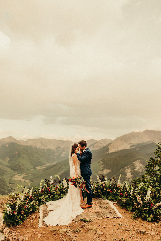 A backcounty luxury wedding at Smith Cabin Aspen