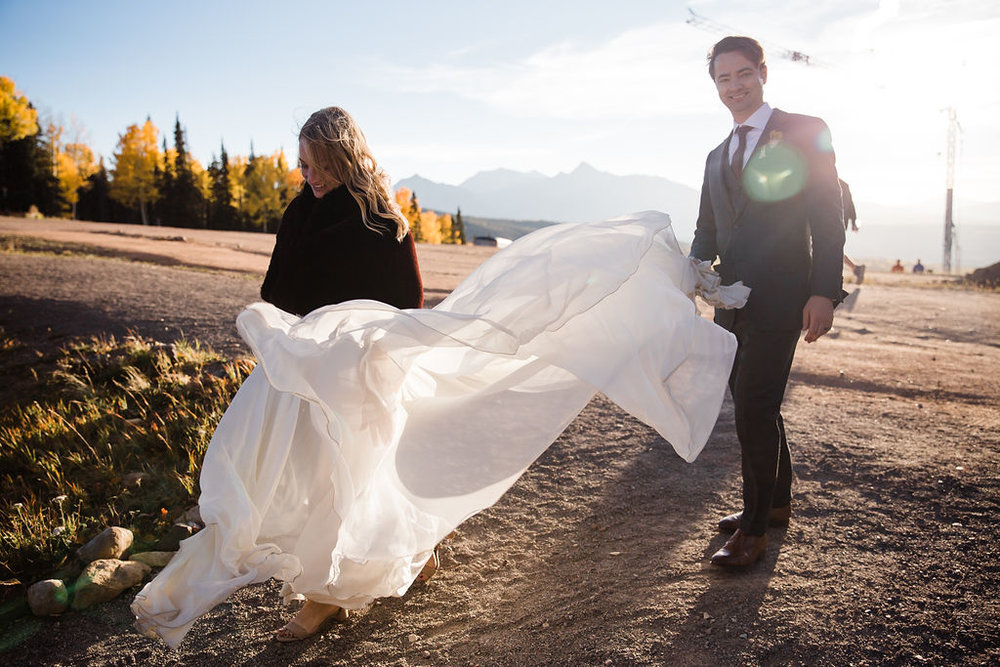 September Wedding San Sophia Overlook