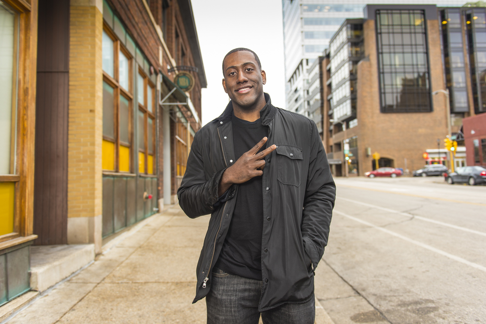 """I'm second generation in Wisconsin. My mother was born in Arkansas, my dad was born in Mississippi, and they moved up here to go to college. I grew up on 47th and Center; that's where I was raised my whole life, the north side of Milwaukee. I went to MSOE for college. I like the size of Milwaukee; It's not too big, it's not too small, and I've had a lot of unique opportunities here.  Milwaukee definitely has it's challenges and it's issues that have been documented many times, and there is always a debate with Milwaukee people: should you stay or should you go? For me, I feel like I want to stay and try to provide opportunities for young people that may not have it. You know what I mean? That is one challenge I like to take on. To make sure there are opportunities for the young people.""  -Tyrone, 2nd Generation, Milwaukee WI"