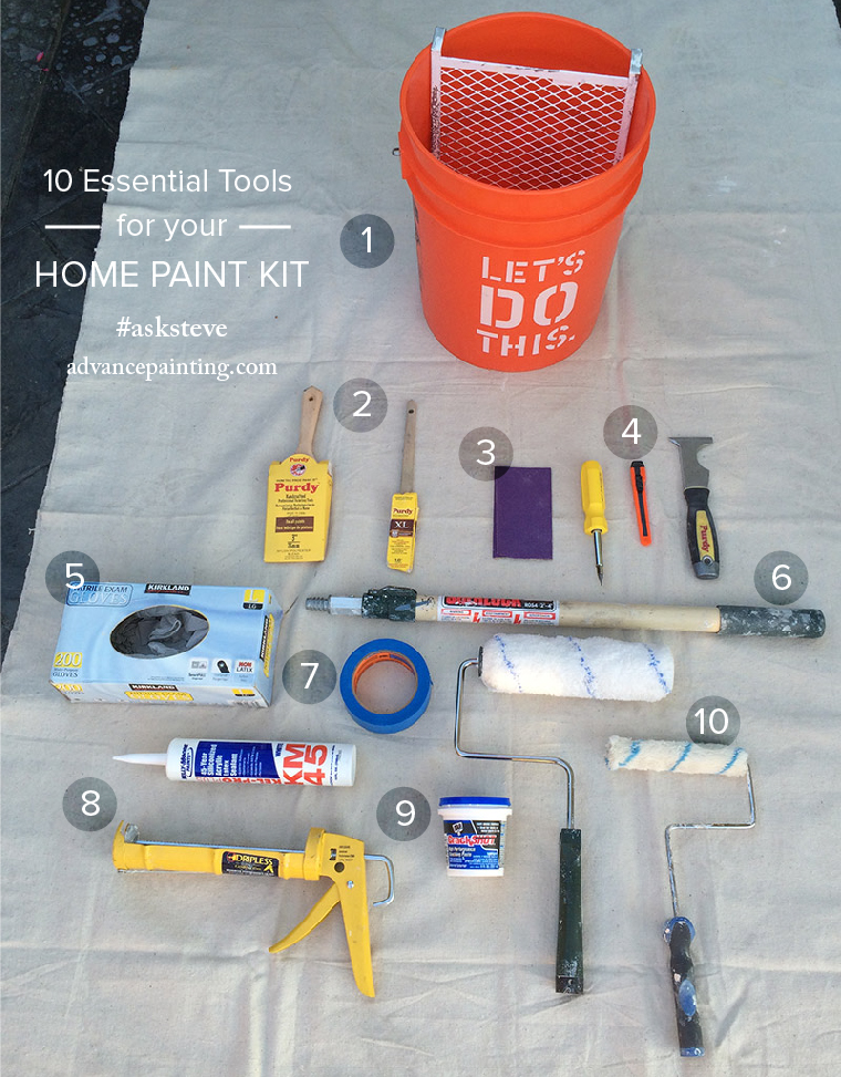 Essential Tools For Your Makeup Bag: 10 Essential Tools For Your Home Paint Kit