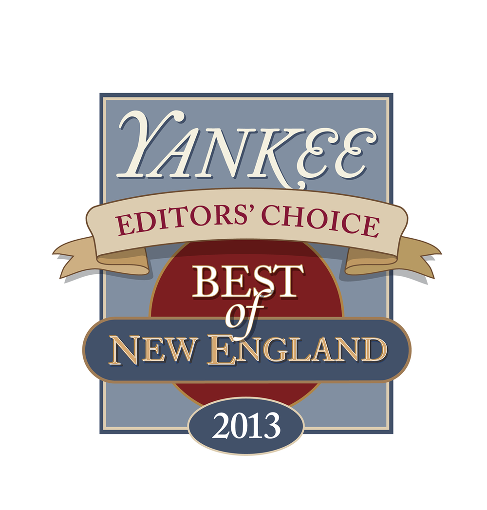 "Yankee Magazine Best of New England 2013 — Editors' Choice winner for ""Best Seaside Spirits"""