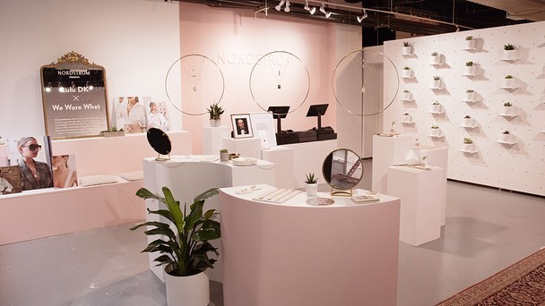 Three brands: one execution. This is a concept and design project we produced from start to finish for @lulu_dk and @weworewhat's Nordstrom pop-up shop. Influenced by aesthetics from all brands involved, the environment was designed and built to be as Instagram-worthy as possible. #retaildesign #experiencedesign #popupshop #luludkxweworewhat
