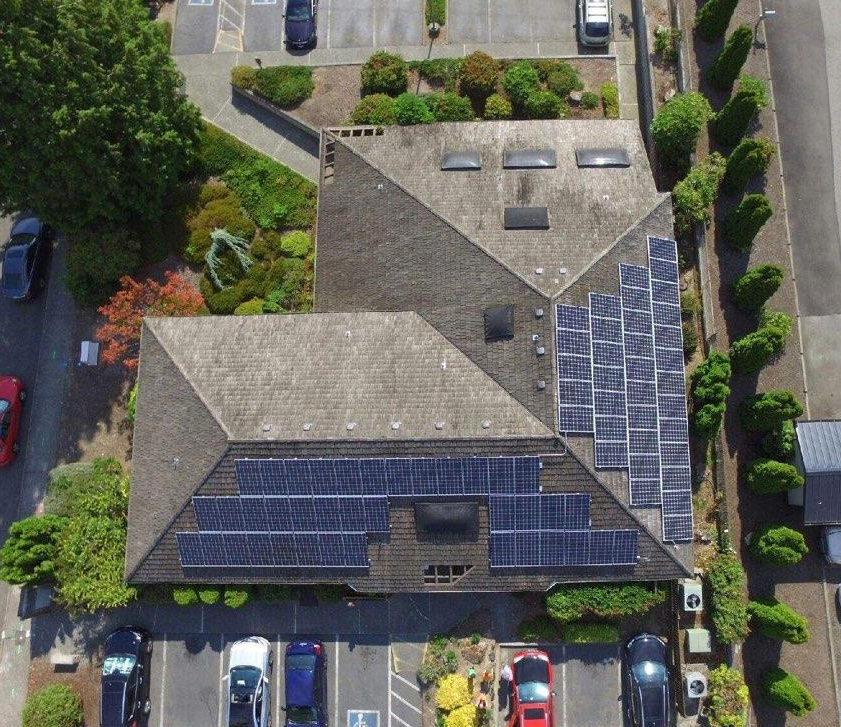 Edmonds Medical Clinic, Edmonds, WA (22 kW system)
