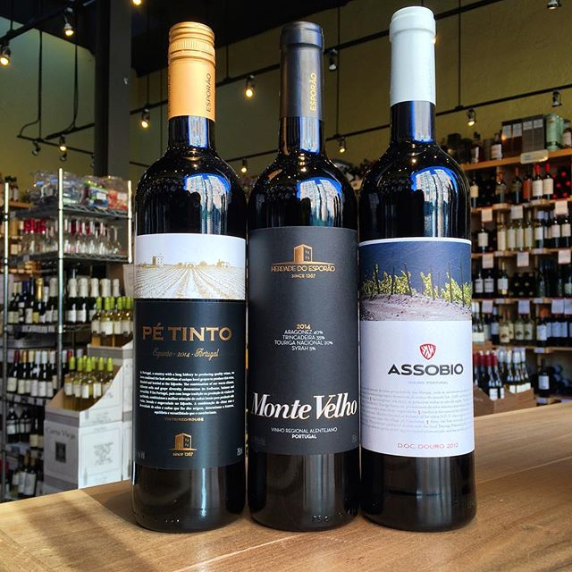 Desiree from Aidel will be tasting three Portuguese reds tonight from 5:00 to 7:30PM • 2014 Pé Tinto • 2014 Monte Velho • 2012 Assobio