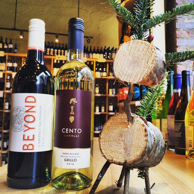 Wednesday's Two for $20 includes • 2013 Beyond Cabernet Sauvignon • 2014 Cento Cavalli Grillo