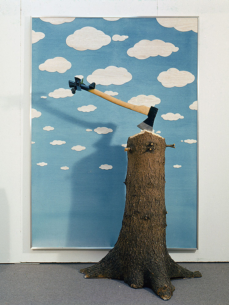 Escape of Rene Magritte