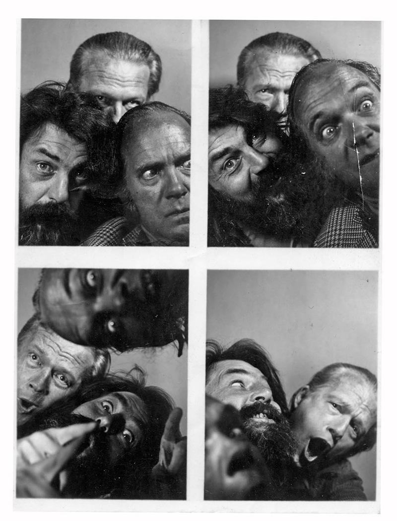 Robin, George Brecht and Al Hansen